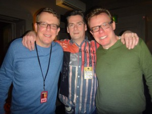 The Proclaimers with Martin Mitchell, owner of the Radical Road